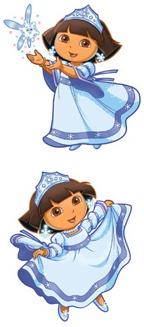 17 best images about winter princess inspiration on pinterest the winter ice queen and snow - Princesse dora ...