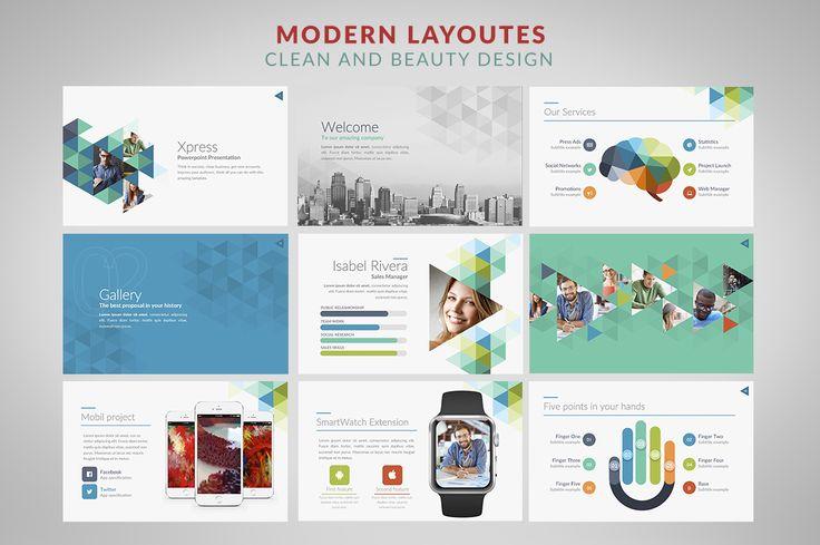 Xpress | Powerpoint templates by Zacomic Studios on @creativemarket