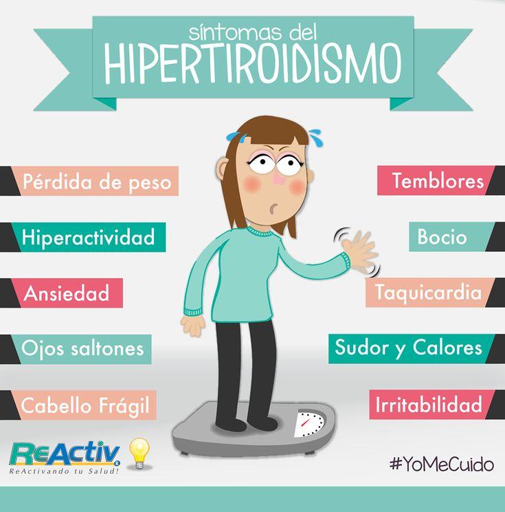 #Síntomas #Hipertiroidismo #Salud