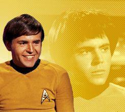 Star Trek gifs (from karlurbanings-deactivated201410 on Tumblr)--Chekov.