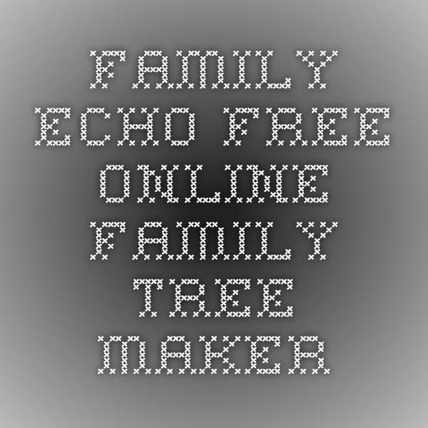 Family Tree Maker Free Printable