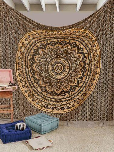 Urban outfitters mandala tapestries wall decor art  #Handmade #ArtDecoStyle #BeddingTapestry