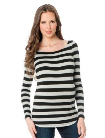 A must for pregnancy! Boat Neck Maternity T Shirt