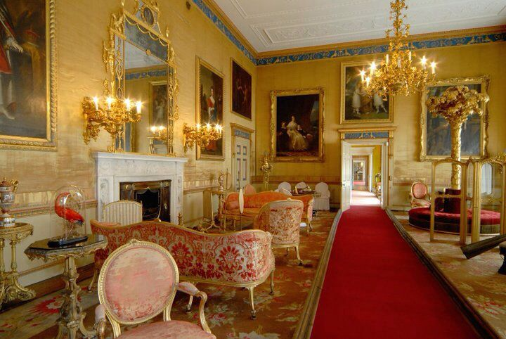 The Drawing Room at Burton Constable Hall