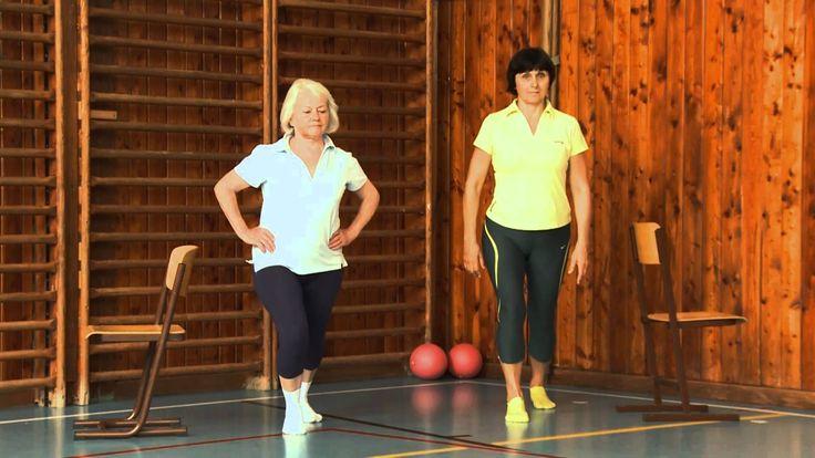 cvičení pro seniory 12 stoj