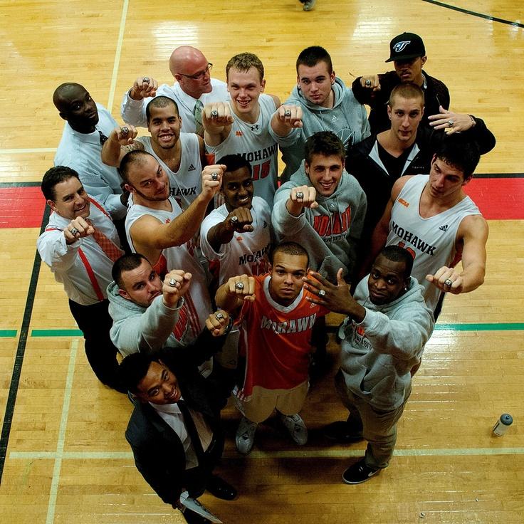 Men's Basketball CCAA 2011-2012 National Champs.