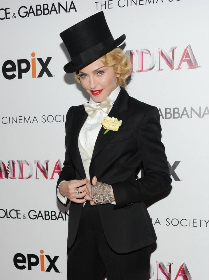 252 best madonna in color images on pinterest summer 2014 v madonna the mdna tour world premiere screening at the paris theater new york voltagebd Image collections