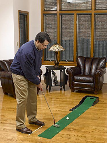 Designed With Regulation Size Cup And Automatic Ball Return These Golf Gifts Gallery Auto Putt
