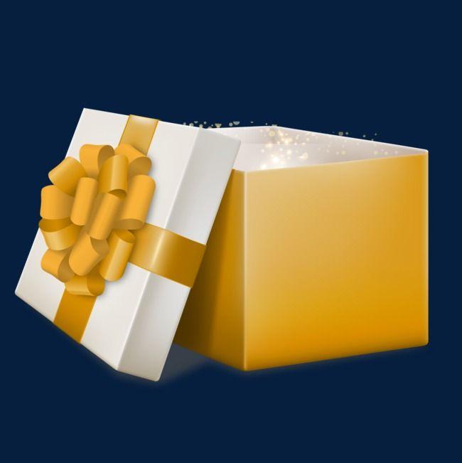 Abra A Caixa De Presente Da Cor Vetor De Presente Vetor De Caixa Amarelo Imagem Png E Vetor Para Download Gratuito Gift Vector Yellow Gifts Gift Box