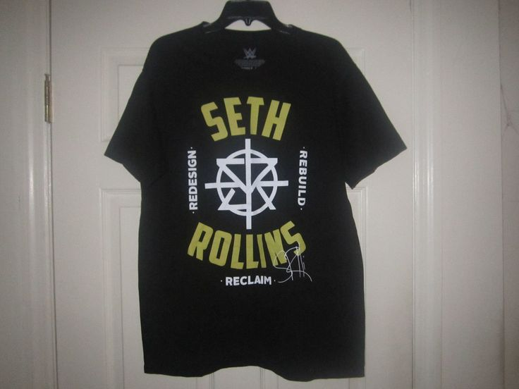ADULT WWE SETH ROLLINS T SHIRT WRESTLING TEE RIPPLE JUNCTION ROH THE SHIELD L - http://bestsellerlist.co.uk/adult-wwe-seth-rollins-t-shirt-wrestling-tee-ripple-junction-roh-the-shield-l/