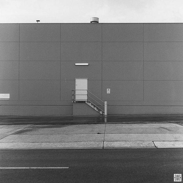 Gungahlin, ACT, Australia, Flexaret VI, black and white film, photo by Pavel Vrzala