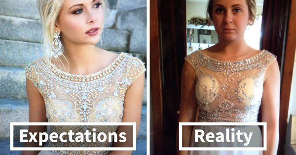 Teens Are Sharing Prom Dresses They Regret Buying Online And It's Hilarious http://www.shenhuifu.org/2017/05/28/prom-dress-online-fails-tweets/ #Prom #PromDresses #promfail #shopping