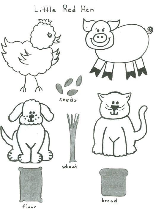 1000+ ideas about Little Red Hen on Pinterest | Red Hen, Three Little ...