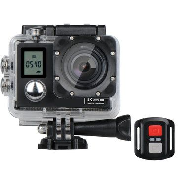 XANES A1 Allwinner V3 Dual Channel 4K HD WiFi Sports Camera Diving DV 173° Wide Angle 2.0 LCD HD 40M Waterproof with Remote Control