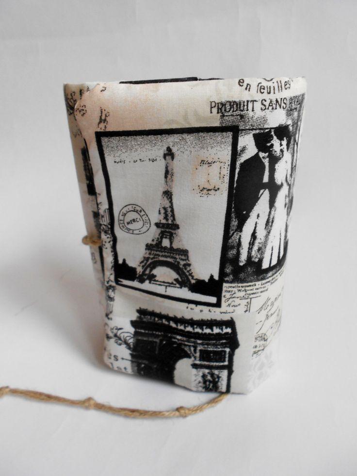 Retro Paris Journal Handmade, Diary, by SashaLandia on Etsy https://www.etsy.com/listing/153109547/retro-paris-journal-handmade-diary