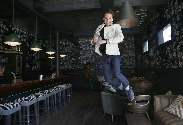 "Randy Harrison plays the Emcee in ""Cabaret."" Photo: Liz Hafalia, The Chronicle"