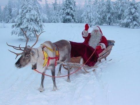 Weihnachtsmann.fi: der Aufbruch des Weihnachtsmanns - Lappland Finnland - Weihnachtsmann - YouTube