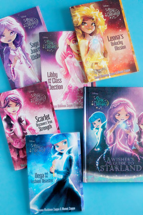 I love discovering new chapter books for my kids, and this brand new book series from MT sponsor, Disney Star Darlings, are so much fun! These are the type of book my girls just gobble up! #StarDarlings #ad