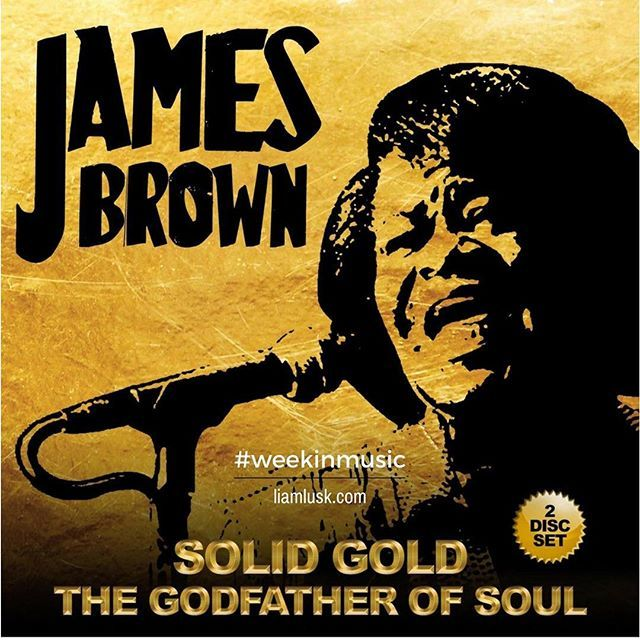 #weekinmusic #greatmusic The #godfatherofsoul the late #jamesbrown who passed in #2006 - #funk #soul #rhythmandbluesCheck out the #weekinmusic section of my blog at http://liamlusk.com/category/week-in-music/