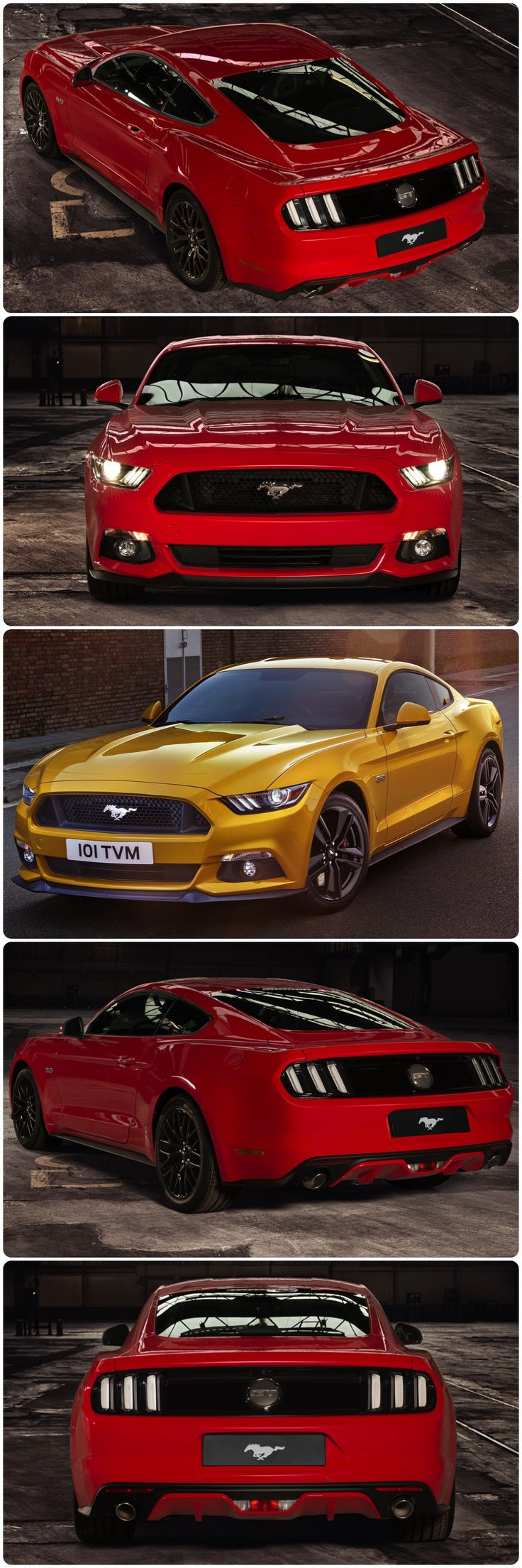 "Ford Mustang Order Stampede for Iconic Car -  ""The rush to configure Mustang online represents 50 years of pent up demand across Europe, for some people, the new Mustang is the car they have waited for their whole lives."" Roelant de Waard, vice president, Marketing, Sales and Service, Ford of Europe.  #mustang #newfordmustang #ponycar #ford"