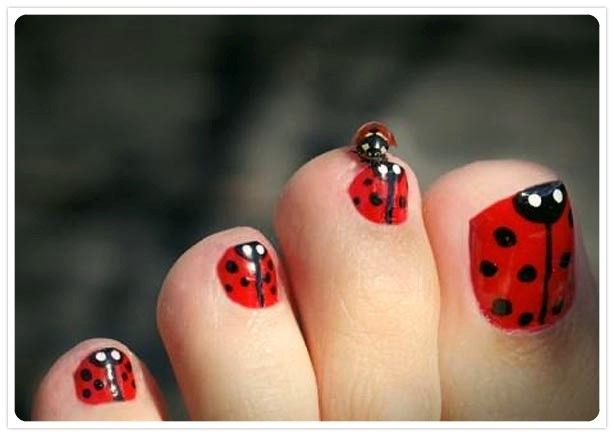383 best summer nail art designs ideas images on pinterest cute simple toenail designs for beginners to do at home prinsesfo Choice Image