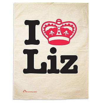 i <3 liz - jubilee tea towel!: Teatowel, Diamond Jubilee, Tea Towels, Queen, Teas, Jubilee Tea, Liz