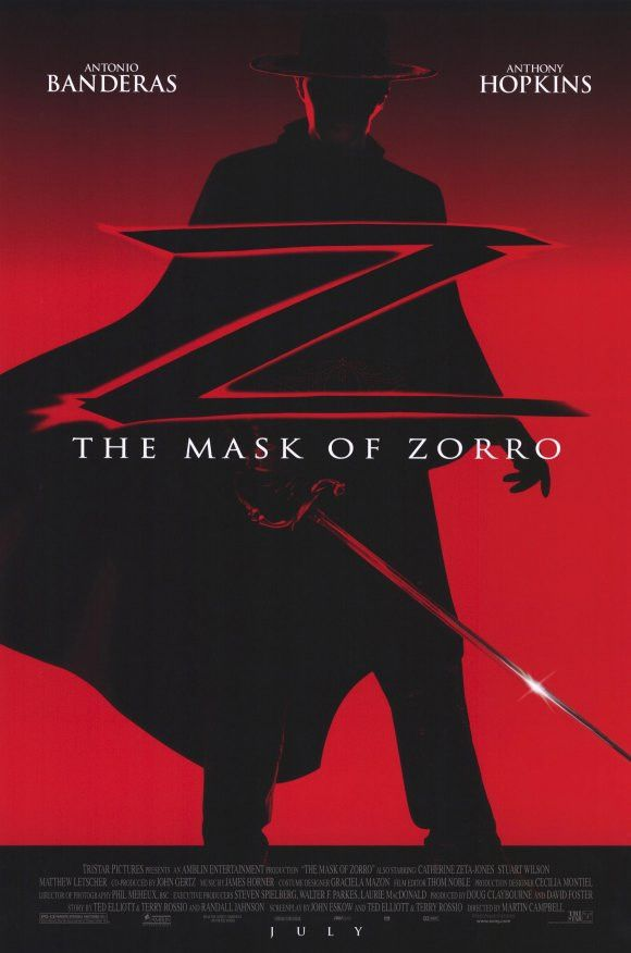 The Mask of Zorro 11x17 Movie Poster (1998)