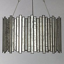 Buy John Lewis Pandora Glass Strips Pendant Light Online at johnlewis.com