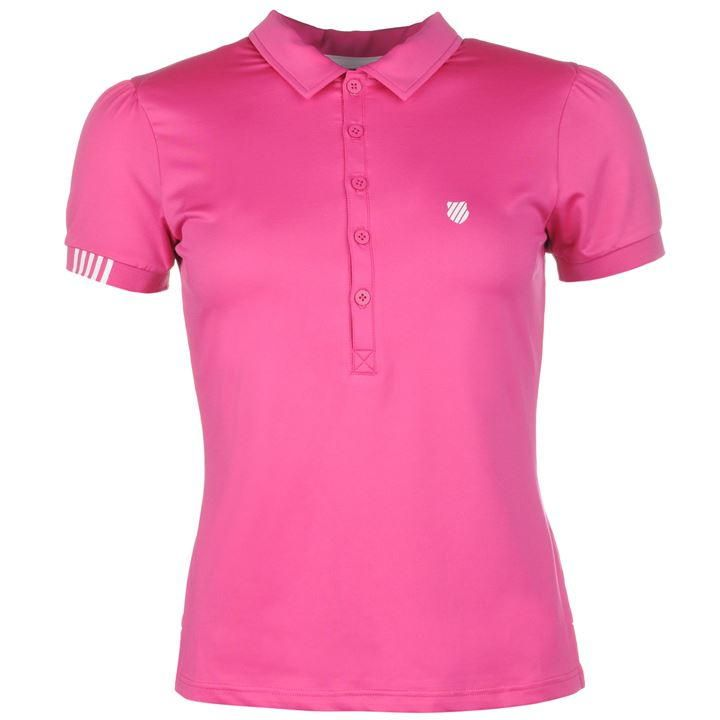 K Swiss | K Swiss Polo Shirt | Ladies Polo Shirts