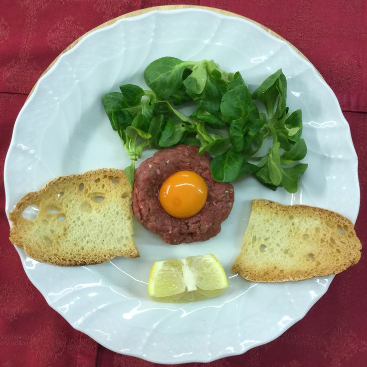 Tartare of chianina meat