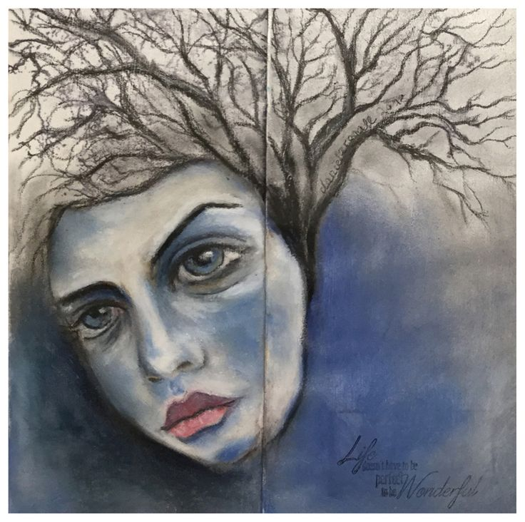 Winter Impression Teil 2 – Gesichter, kahle Bäume, klarer blauer Himmel