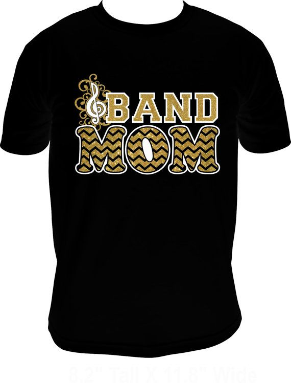 Band Mom Shirt for Adults S-3XL on Etsy, $28.95