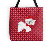 Christmas gift for Bichon Frise owner #Bichonfrisechristmas #bichonTote #bichonfriseBag #bichonfrisesanta #santadog #bichonfrise #bichonlove #christmasgiftfordoglover #christmasgift