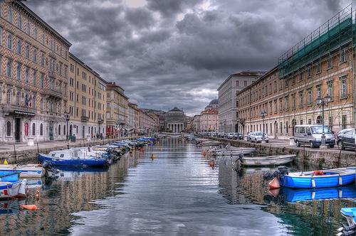 #Trieste Ponterosso