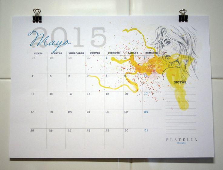 Imprime tus calendarios 2015   Aprender manualidades es facilisimo.com