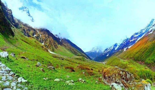 Trek To Dehradun Valley of Flowers And Hemkund Sahib >> Valley of Flowers is the name of the #Himalayan area in #Uttarakhand state in India. This area, surrounded by snow-capped mountains and carpeted with over 500 species of flowers, soon became a protected site.  #Treks #Dehradun #ValleyofFlowers #HemkundSahib