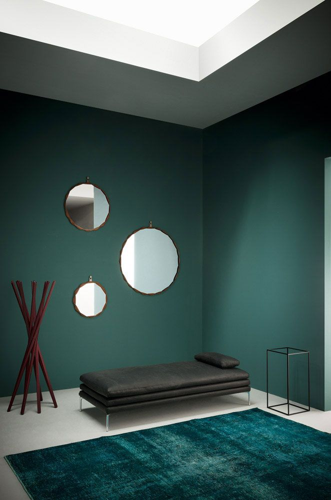 Decorative mirrors for your home, Raperonzolo mirror, Atelier Oï, Zanotta, 2015