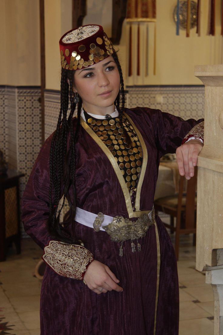 Костюм крымских татар
