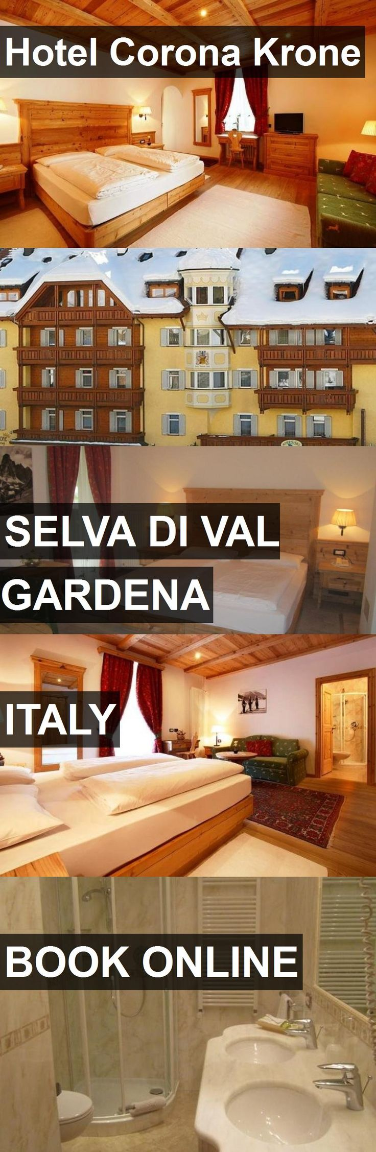 Hotel Corona Krone in Selva di Val Gardena, Italy. For more information, photos, reviews and best prices please follow the link. #Italy #SelvadiValGardena #travel #vacation #hotel