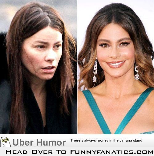 """Hot"" Celebrities without makeup.  There is no god! (29 Pictures)"