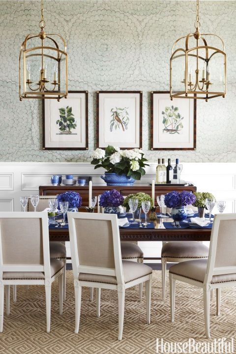 Wallpaper Ideas Dining Room Part - 43: 85+ Stunning Designer Dining Rooms