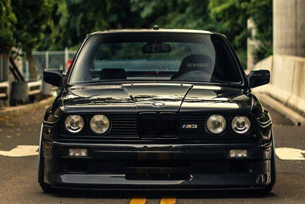 Bmw E30 M3 Black Front Stance Bmw Ultimate Driving