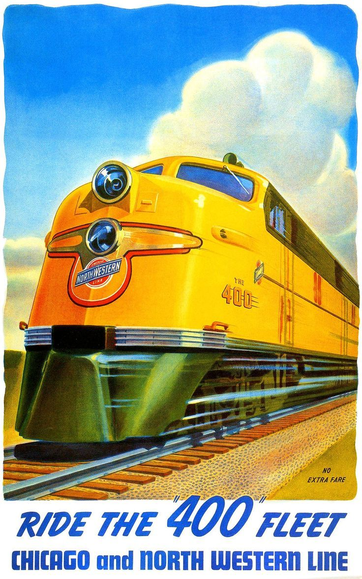 129 best Railroad Posters images on Pinterest | Railway posters ...