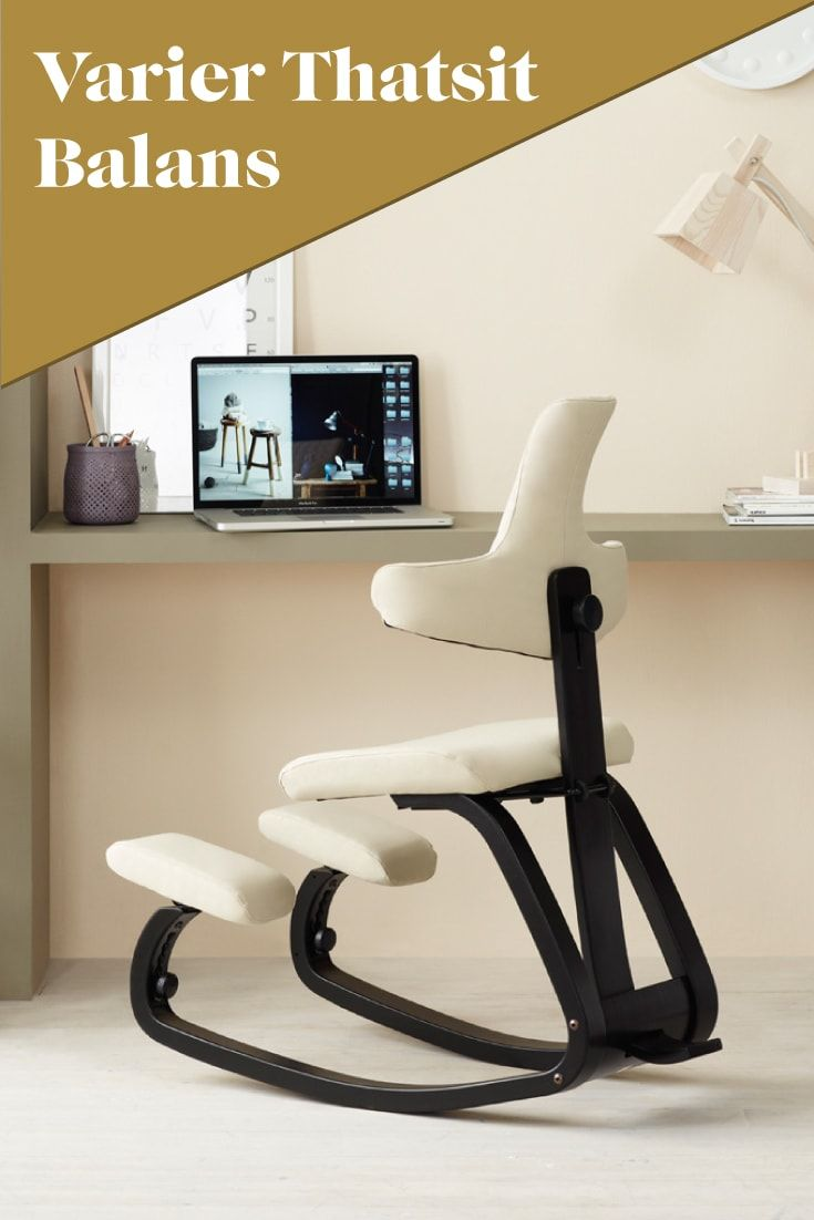 Ergonomic office chair kneeling posture - The Chair For An Active Mind And Strong Posture Varier Thatsit Kneelingchair Kneeling Chairergonomic Office