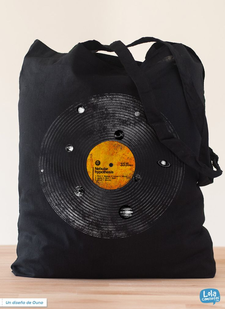 Nebular hypothesis totebag | Design by Ouno