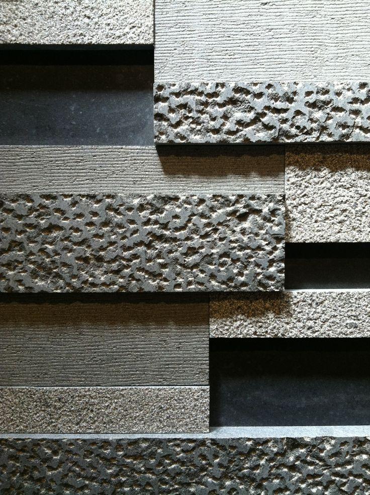 Black Granite | Honed, Bush-Hammered, Big Chiseled, Etched