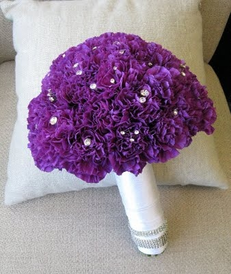 Worcester florists - Sprout: Color Harmony - A Red and Purple Wedding - The Wedding Party