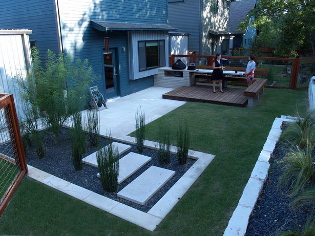 Small Rectangular Backyard Design Ideas Modern Backyard Design