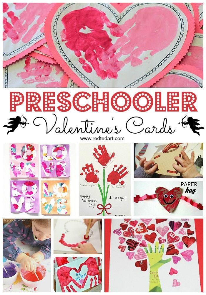 Valentine S Cards For Preschoolers To Make Preschool Valentine