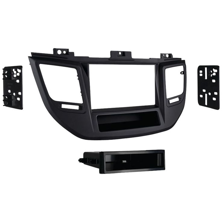 Metra Iso Single-din Installation Kit With Pocket Hyundai Tucson 2016 & Up